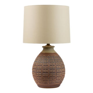 0-Series Stoneware Lamp by Bob Kinzie for Affiliated Craftsmen For Sale