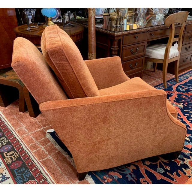 Donghea Club Chairs - a Pair For Sale - Image 9 of 12