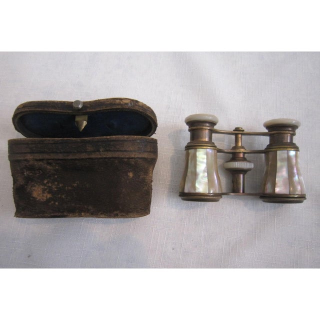 French Mother of Pearl Opera Binoculars - Image 3 of 6