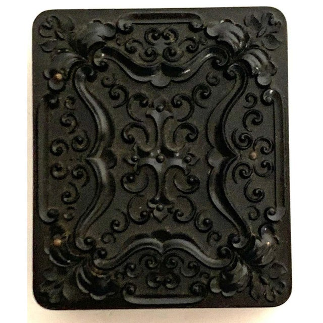 19th Century Ambrotype of a Young Male Student/ Writer, Gutta Percha Case For Sale In West Palm - Image 6 of 8