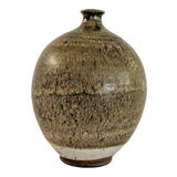 Image of Studio Pottery Ceramic Vase Signed For Sale