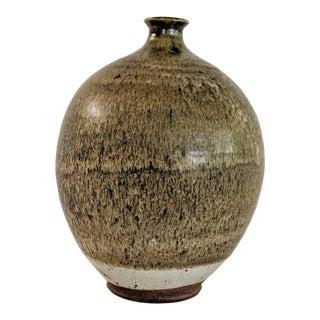 Studio Pottery Ceramic Vase Signed For Sale