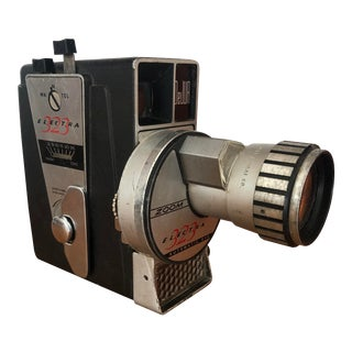 Vintage Movie Camera by DeJur For Sale