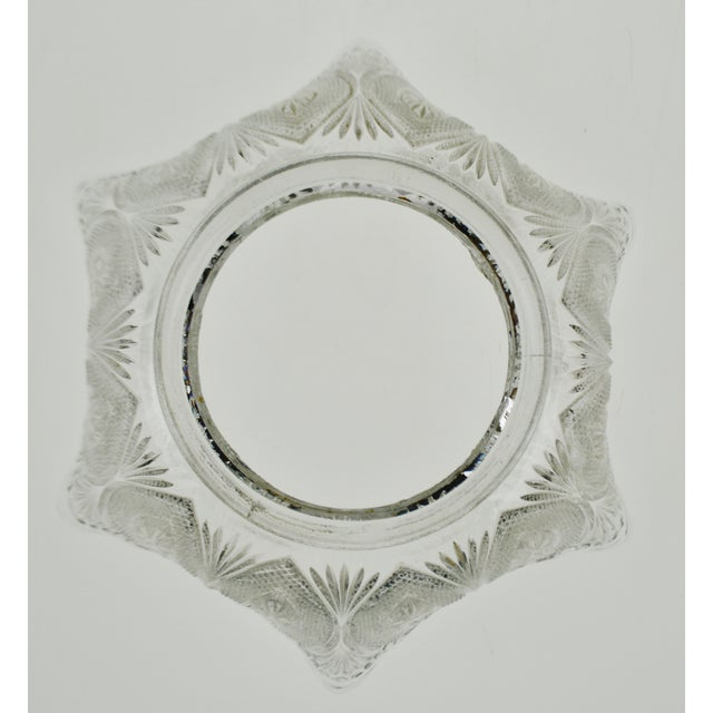 Mid 20th Century Victorian Style Pressed Glass Gas Light Shade For Sale - Image 5 of 13