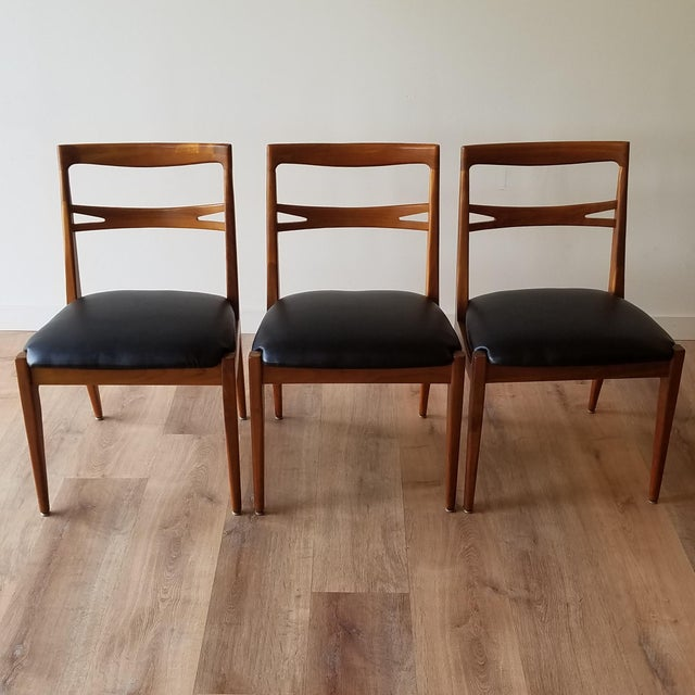 1953 Newly Upholstered Drexel Declaration Collection Dining Chairs - Set of 6 For Sale - Image 11 of 13