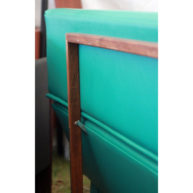 Turquoise Martin Borenstein Turquoise Daybed Sofa Mid Century Modern C.1960's For Sale - Image 8 of 10