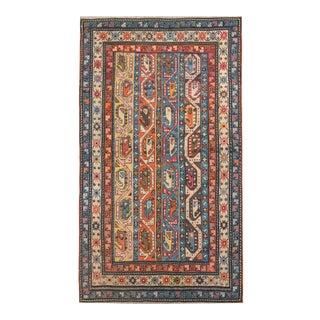 19th Century Vintage Ganjeh Rug For Sale