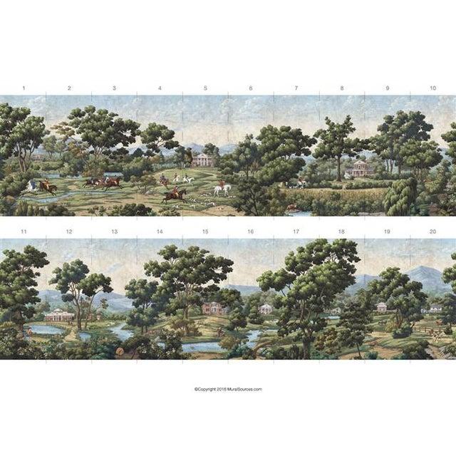 Asian Casa Cosima Monticello Mural - Sample For Sale - Image 3 of 4