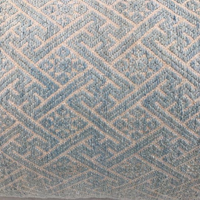 Faded Hmong Woven Pillows - a Pair - Image 3 of 5