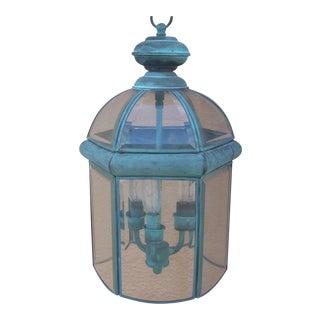 Vintage Hexagonal Hanging Lantern