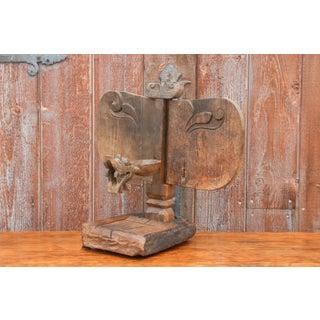 Primitive African Wooden Carved Altar Sculpture Preview