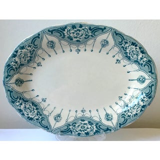 Antique Aesthetic Ironstone Platter Preview