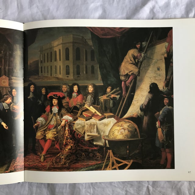 """Blue """"The Grand Louvre"""" First Edition Art Book For Sale - Image 8 of 9"""