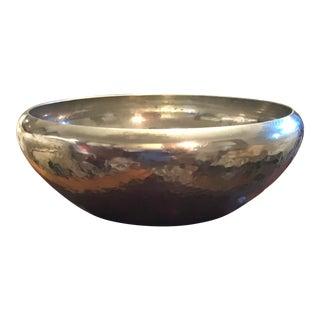 1950s Porter Blanchard Cartier Pewter Bowl For Sale
