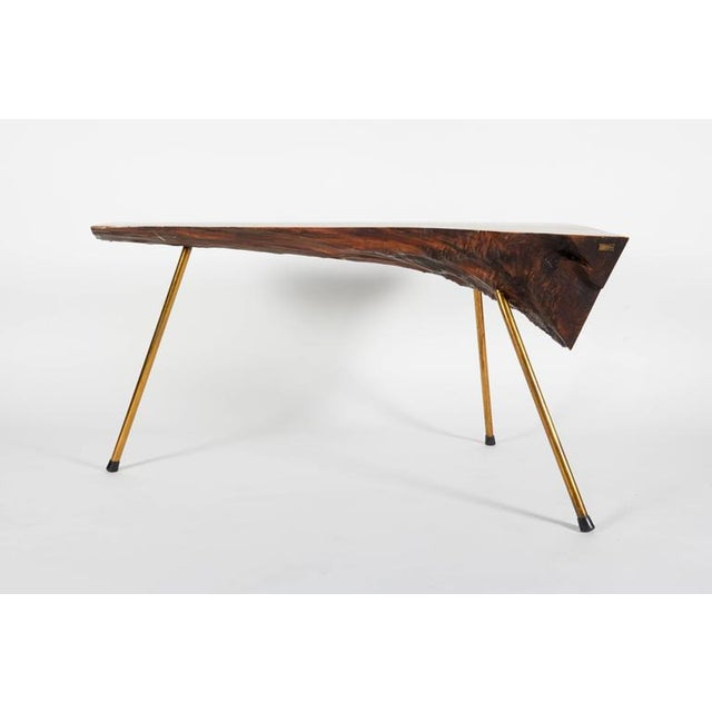 Walnut Table by Carl Auböck - Image 2 of 7