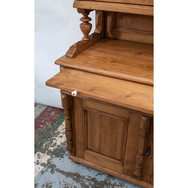 Pine Glazed Buffet For Sale In Washington DC - Image 6 of 10