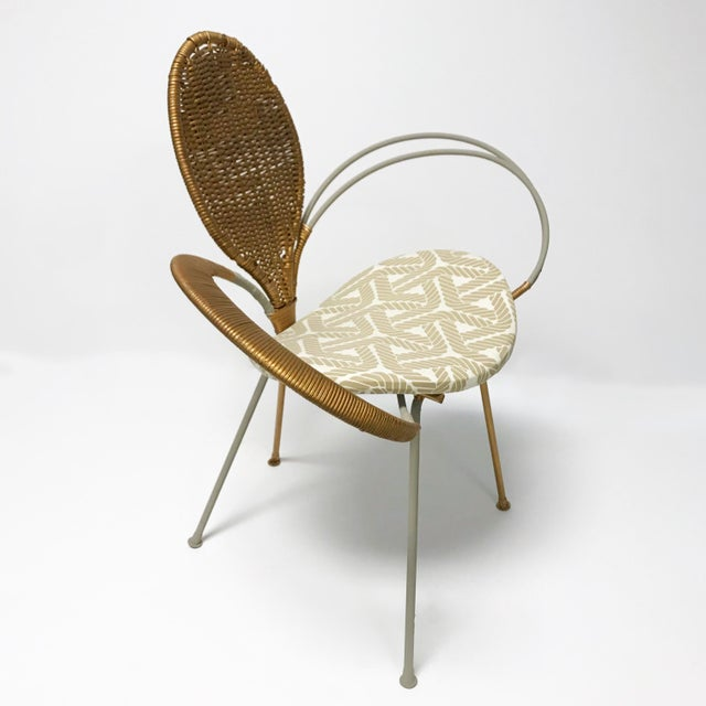 Wrought Iron Accent Chair - Image 8 of 10