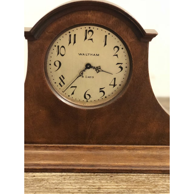 Waltham Eight Day Clock For Sale In Atlanta - Image 6 of 7