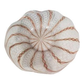 19th Century Antique Venetian Art Glass Bowl For Sale