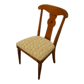 Ethan Allen Country Crossings Dining Side Chair For Sale