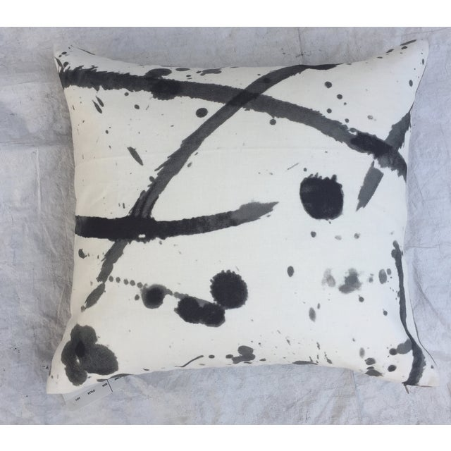 "Pierre Frey ""Leo"" Fabric Abstract Pillows - Pair For Sale - Image 7 of 8"