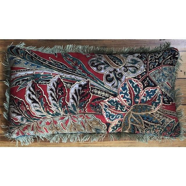 Turkish 20th Century Turkish Lumbar Pillow For Sale - Image 3 of 3