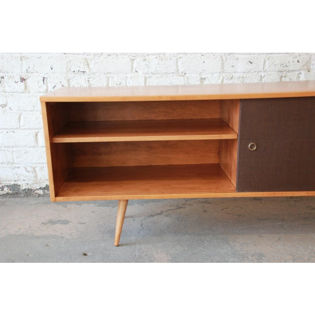 Paul McCobb Planner Group Credenza or Record Cabinet For Sale In South Bend - Image 6 of 12