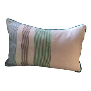 Handwoven Krama Khmer Pillow