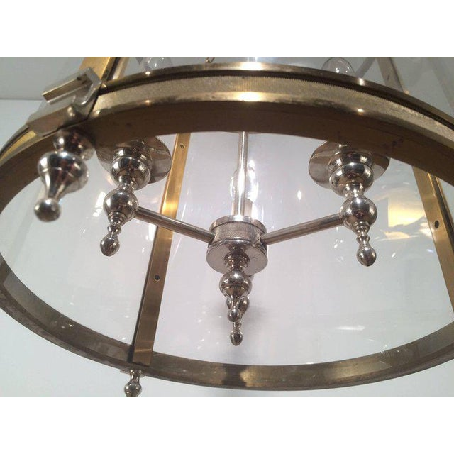 1970s French Neoclassical Style Hanging Lantern - Image 6 of 10