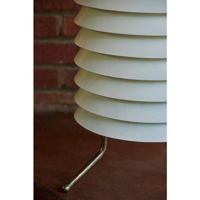 "White 1955 Modern Scandinavian Ilmari Tapiovaara 'Maija"" Floor Lamp For Sale - Image 8 of 12"