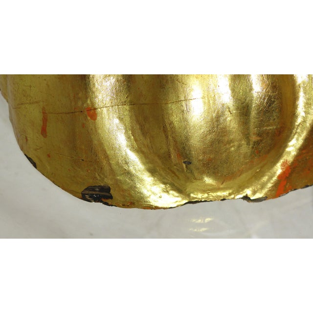 Mid-Century Gold Gilt Wooden Flamigo - Image 11 of 11
