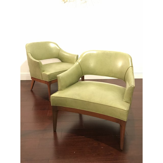 Harvey Probber Mid Century Modern Low Club Chairs or Lounge Chairs - a Pair For Sale - Image 9 of 9