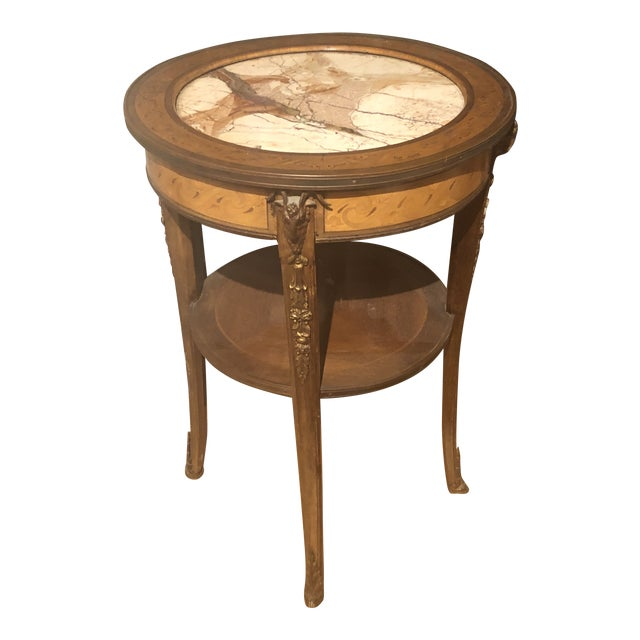 Early 18th Century Louis XV Style Side Table For Sale