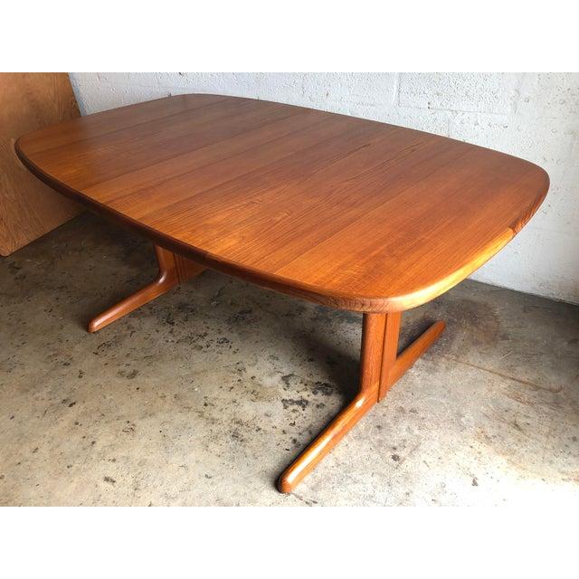 Vintage Mid-Century Danish Modern Extendable Dining Table by Skovby Mobelfabrik Denmark For Sale - Image 13 of 13