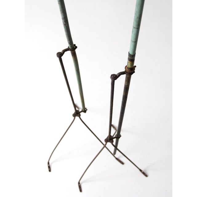 Antique Lightning Rods - A Pair For Sale - Image 6 of 8