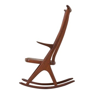 Studio Rocking Chair by Richard Harrison, Us, 1960s For Sale