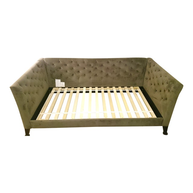 This daybed has been discontinued by West Elm and is in perfect condition. It comes with the matching Mattress Cover, and...