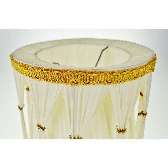 Vintage Hollywood Regency Drum Lamp Shades - A Pair - Image 6 of 6