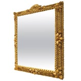 Image of Hand-Crafted Shell Mirror For Sale