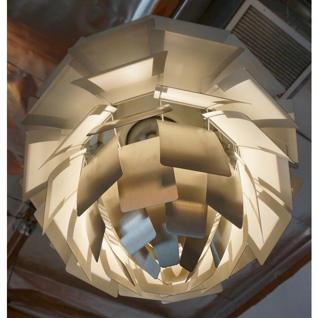 "1970s ""Artichoke "" Pendant Lamp by Poul Henningsen For Sale - Image 5 of 7"