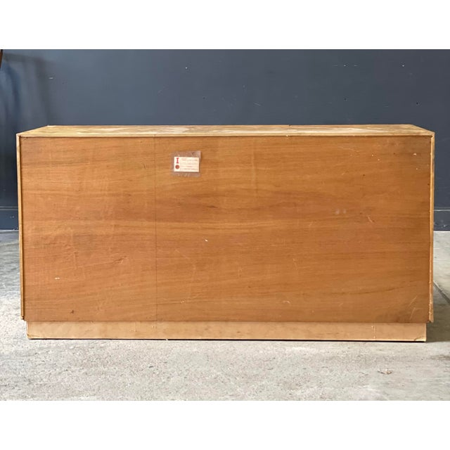 1950s Vintage Milo Baughman Burl Wood Credenza For Sale - Image 5 of 13