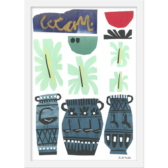 """Contemporary Medium """"Still Life With Vases"""" Print by Katy Welsh, 15"""" X 21"""" For Sale - Image 3 of 3"""