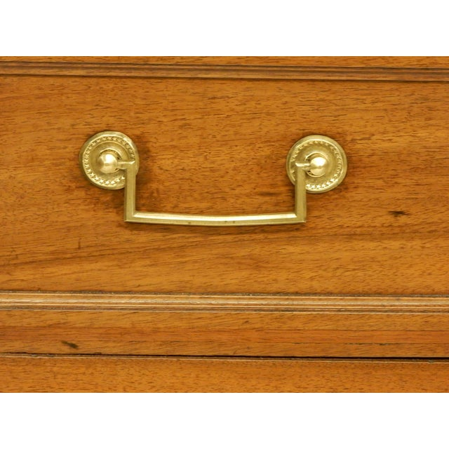 Louis XVI Walnut 19th Century Commode For Sale In New Orleans - Image 6 of 8
