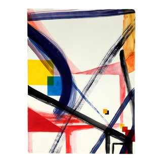 """Laura Newman """"Diagram"""", Painting For Sale"""