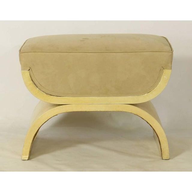 Art Deco Goatskin Stool For Sale - Image 5 of 7