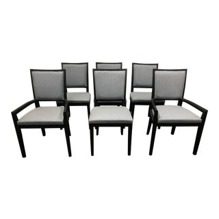New Garbarino Elm Dining Chairs - Set of 6
