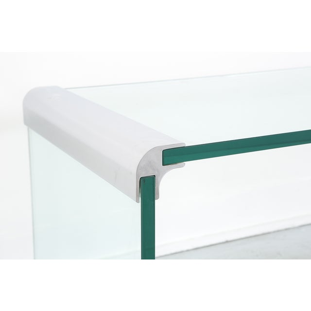 Modern Pace Waterfall Coffee Table For Sale - Image 3 of 4
