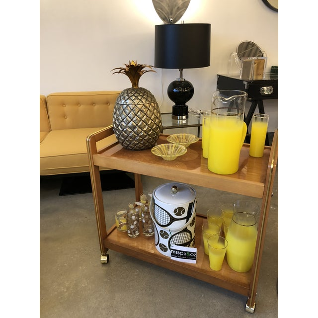 Mid Century Modern Italian Mauro Manetti Pineapple Ice Bucket - Image 6 of 6