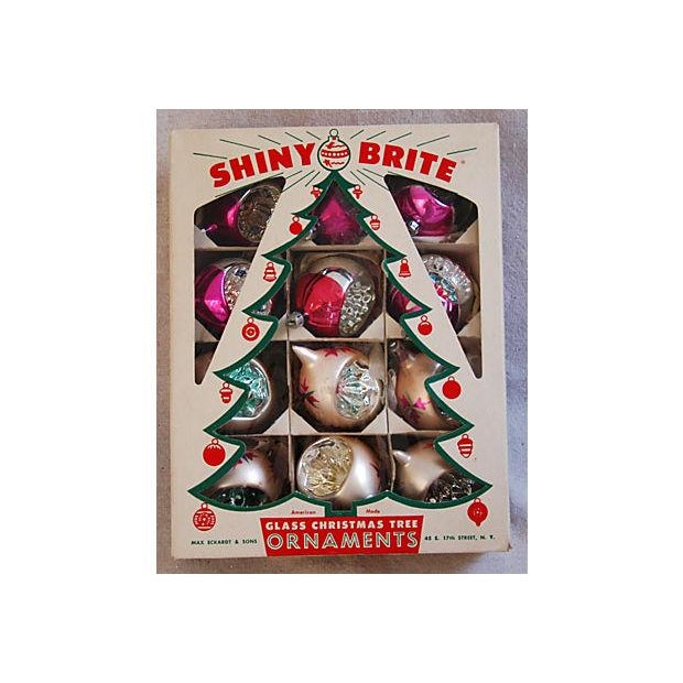 1950s Fancy Christmas Indent Ornaments - Set of 12 - Image 6 of 6