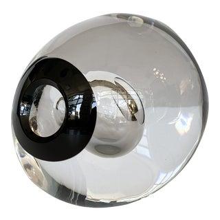 Studio Ahus Art Glass Abstract Sculpture by Lennart Nissmark For Sale
